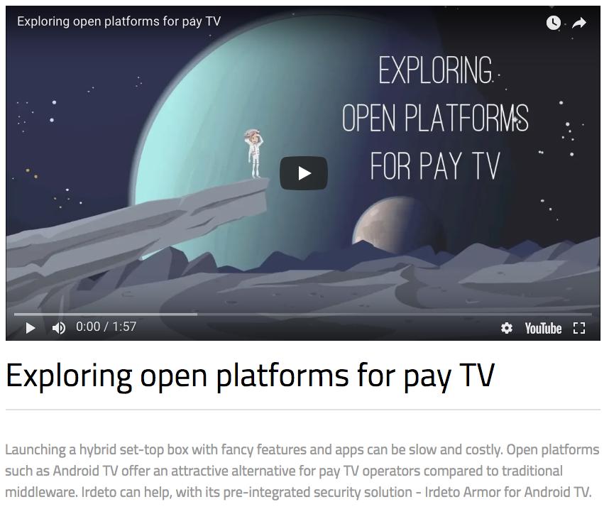 Open Platform Security - Irdeto