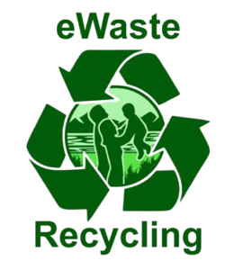 E-waste recycling logo