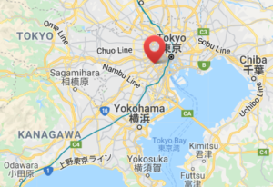 Japan office map
